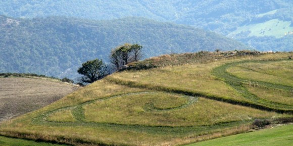 Civitaluparella - la zona di Colle della Lite