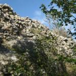 Muro esterno del Castello