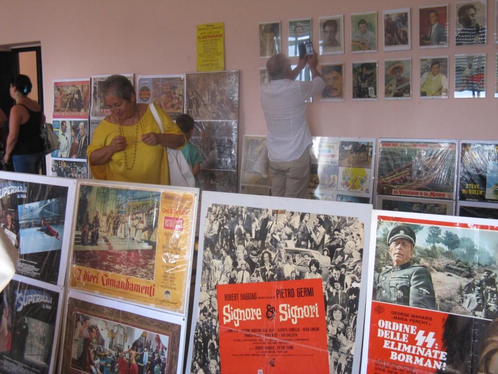 Mostra dei manifesti cinematografici del 19 agosto 2013